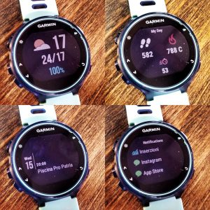 Garmin 735xt: funzioni smart watch